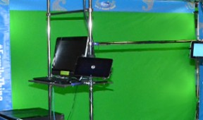 services green screen hire