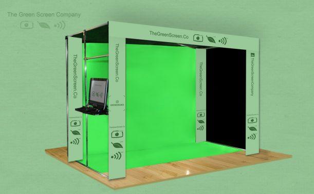 Green Screen Hire Setup